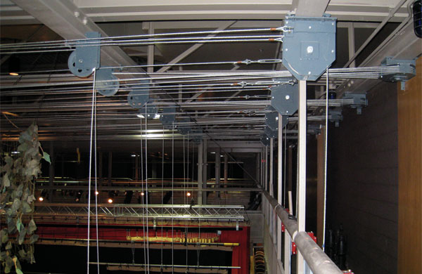 Ontario Staging Limited Theatre Theater Lighting